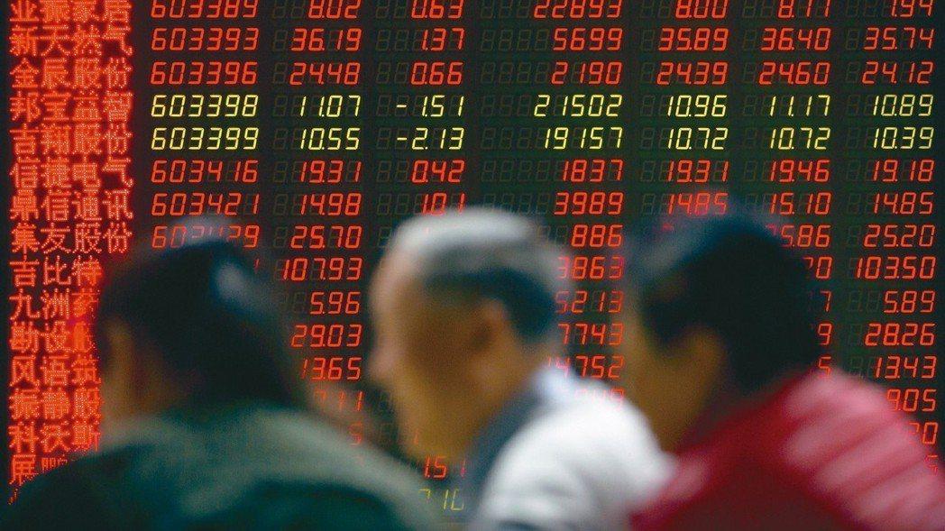 法人表示,新興亞洲股市在今年大部分時間遭受重創後,其投資價值特別高。圖為大陸證券...