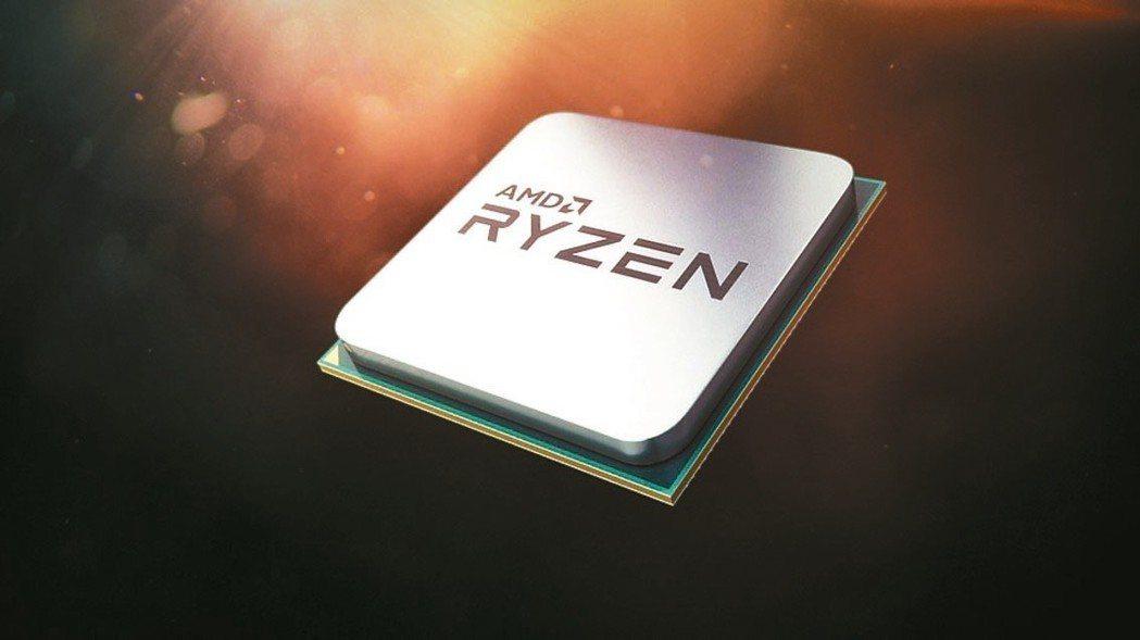 超微新Ryzen處理器等三款晶片確定由台積電7奈米獨家生產。 超微/提供