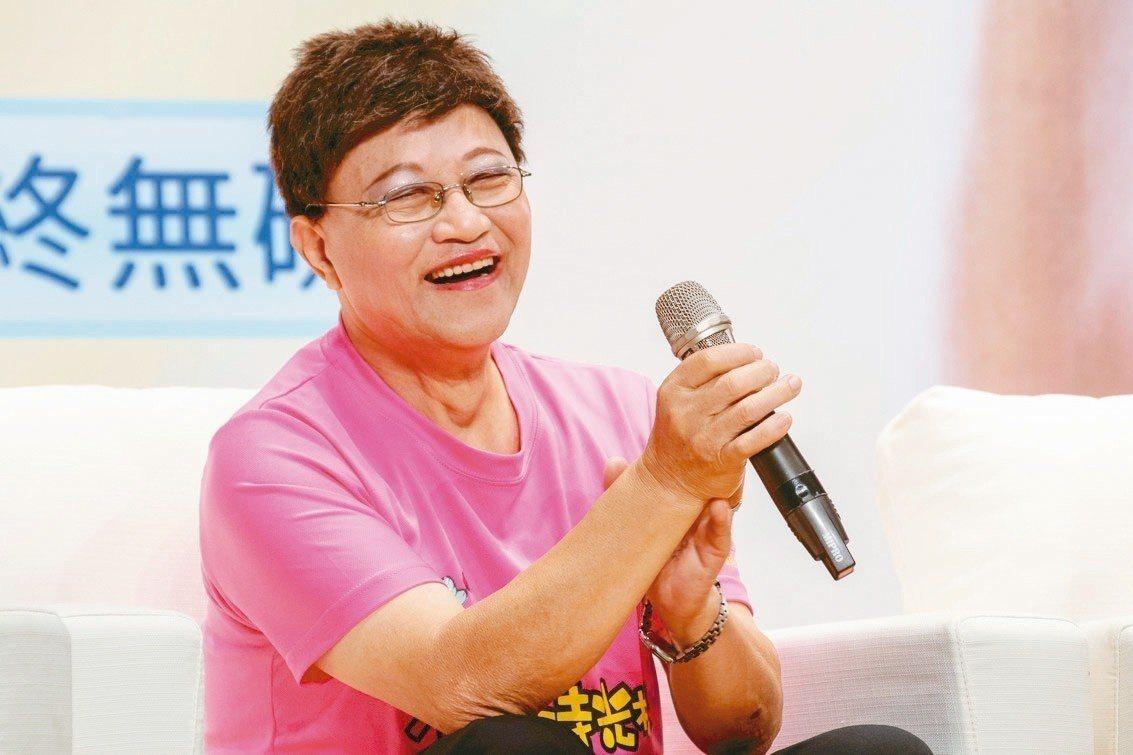 李後存退休後過著豐富的生活,還登上小巨蛋表演。 記者王敏旭/攝影