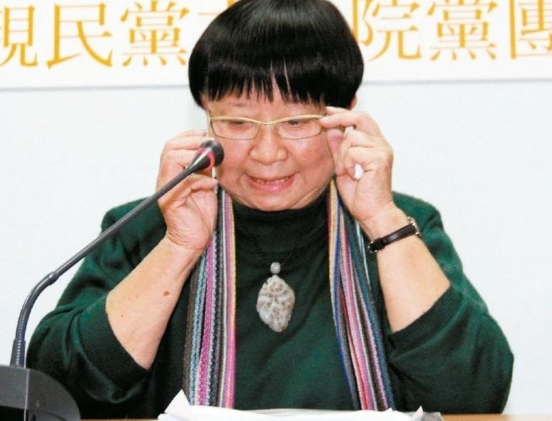 張曉風。 本報資料照片/記者潘俊宏攝影