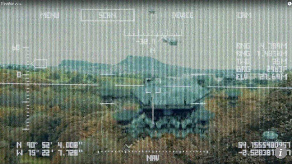 中國正訓練聰明的學生參與發展人工智慧(AI)的機器人殺手。 圖擷自英文南華早報