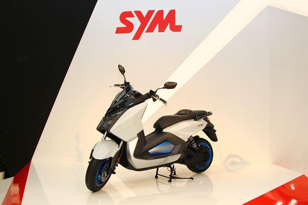 2018年義大利米蘭國際機車展,三陽(Sym)不僅一口氣發表四輛各級距電動機車,...