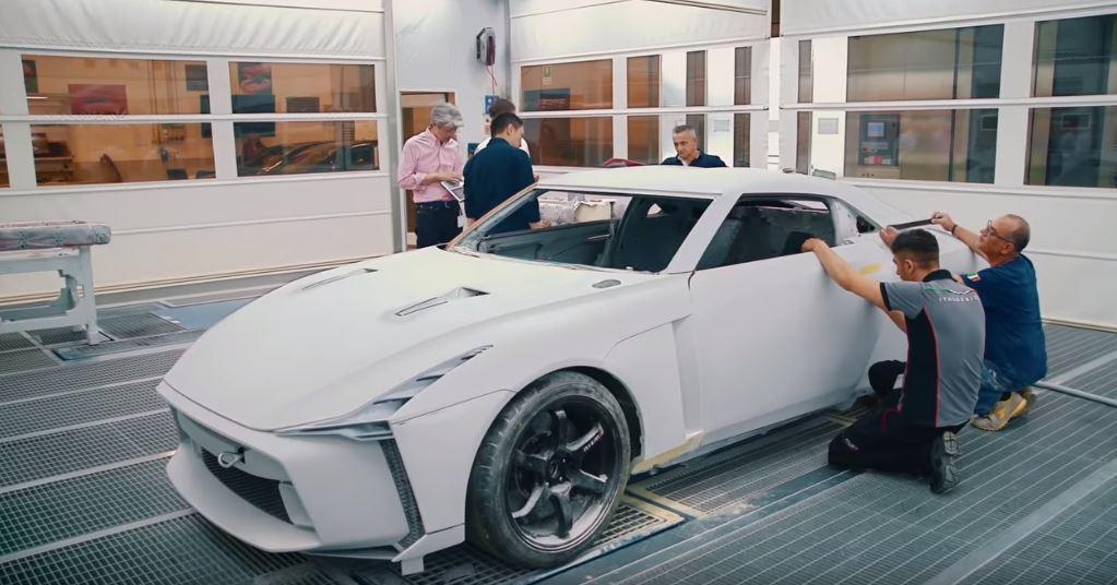 Italdesign工程師們用手工打造這輛GT-R50。 摘自Italdesig...