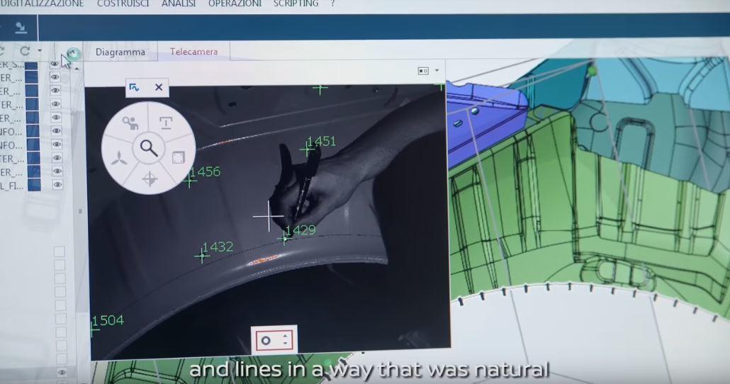 必須先用電腦掃描GT-R的底盤,才能確認各部件可以配合的參數。 摘自Italde...