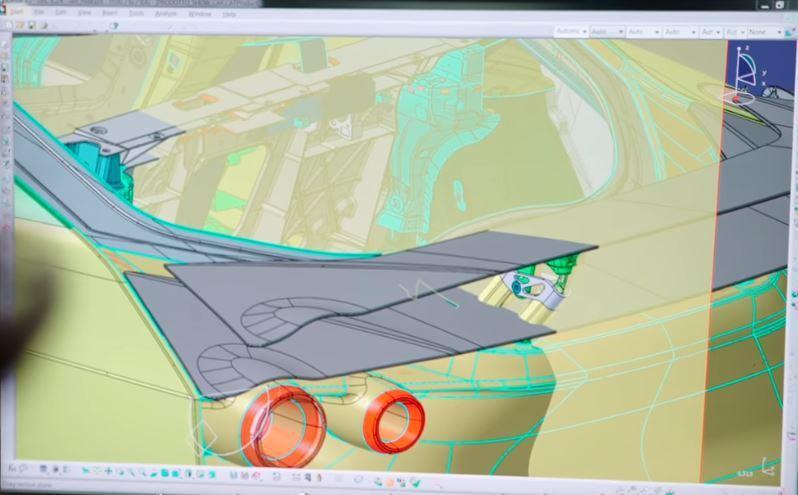 些許部件也能借助3D列印的技術直接生產出來。 摘自Italdesign Offi...