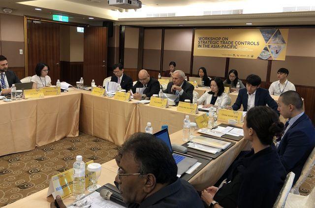 第八屆亞太戰略貿易管制會議共有來自美國、德國、日本、韓國、新加坡、印度、馬來西亞...