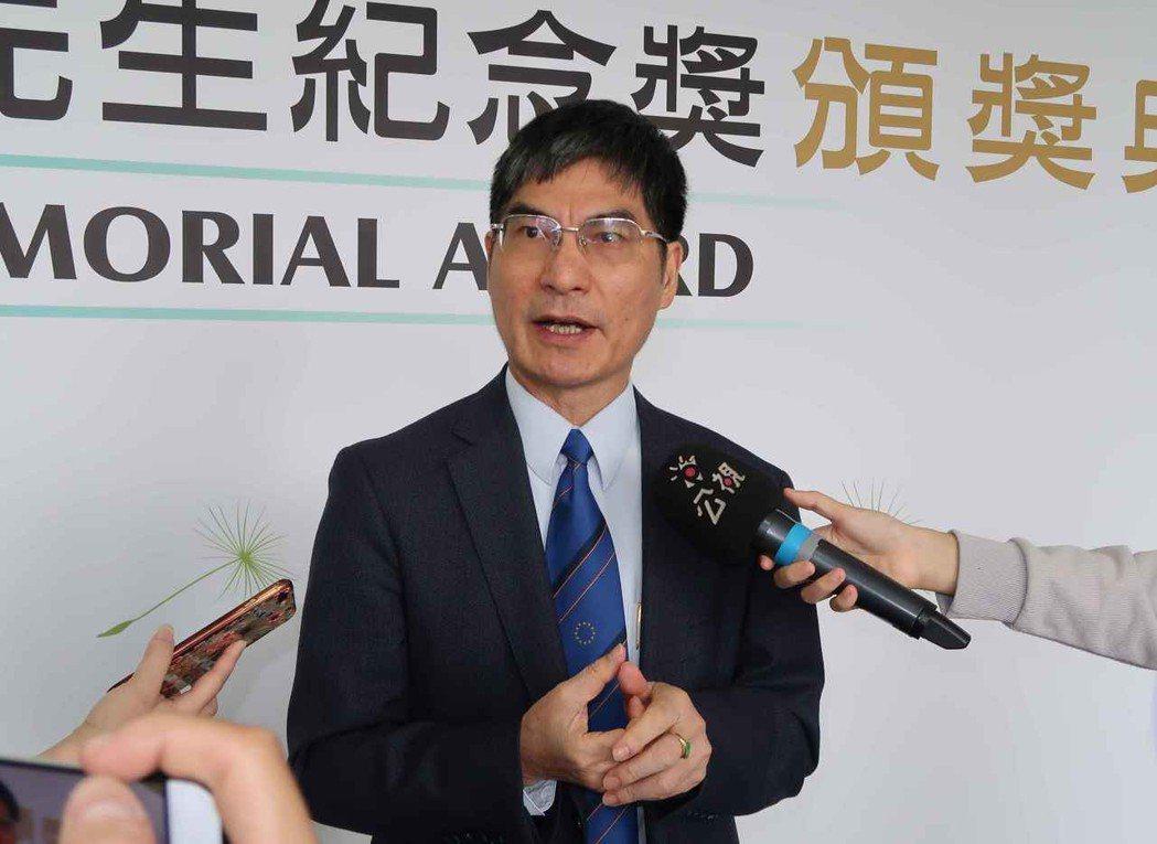 科技部長陳良基。 李炎奇/攝影