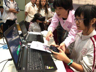 日本電子學校由校長古賀帶領23名師生,將日本科技領域最夯的AI人工智慧帶來光華高...