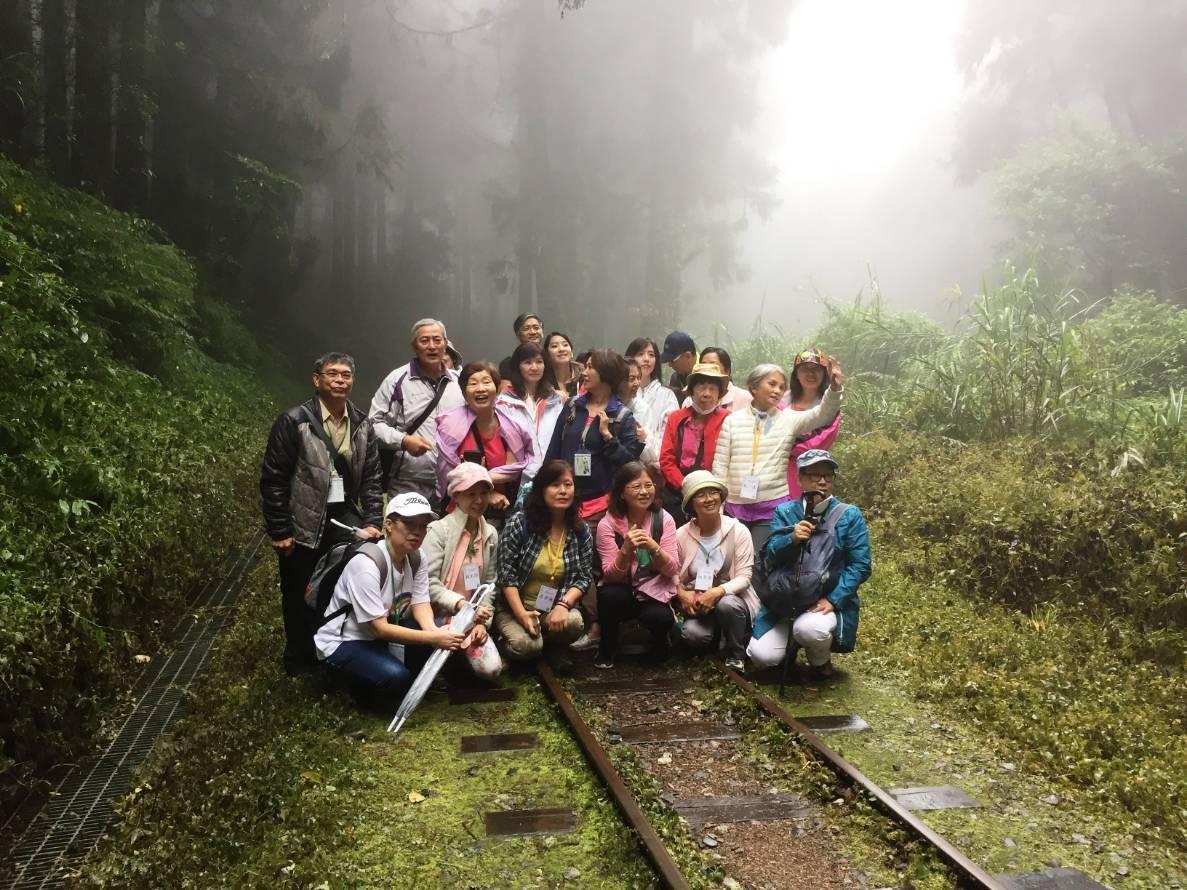 森林療癒在日本風行,台灣正在推動。圖/嘉義林區管理處提供