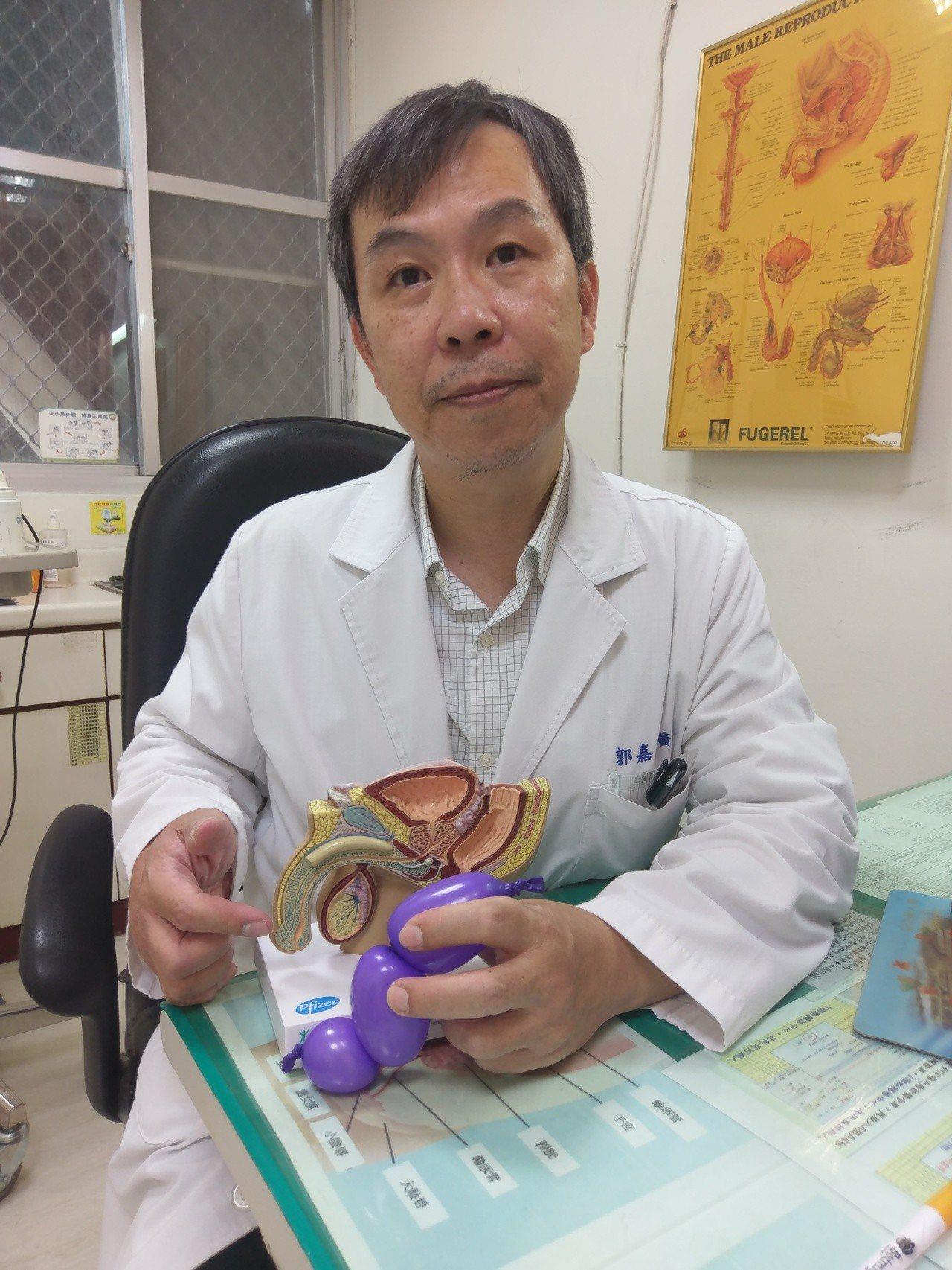 衛福部豐原醫院泌尿外科醫師郭嘉政表示,「陰莖骨折」多半是性愛姿勢採女上男下發生。...
