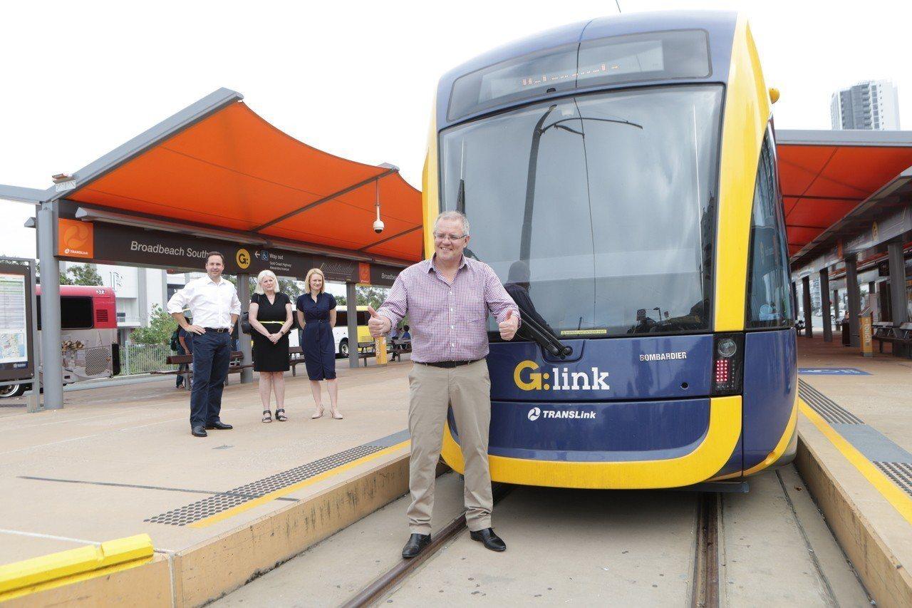 澳洲總理莫里森8日將成立20億澳元的基金,資助太平洋島國進行基礎建設。圖為他日前...