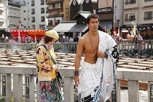 由性格男星阿部寬主演的電影「羅馬浴場」曾在草津溫泉取景。圖/翻攝自網路