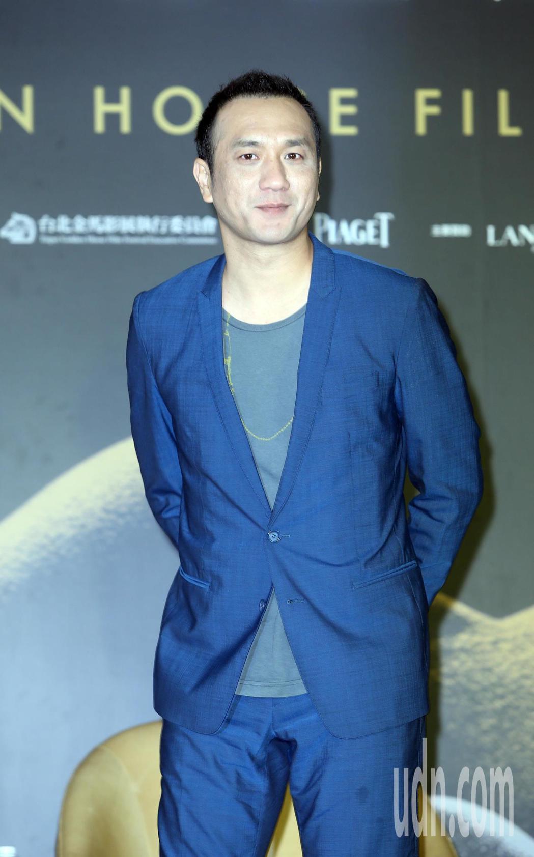 2018金馬影展開幕片《地球最後的夜晚》記者會,演員黃覺出席。記者曾吉松/攝影