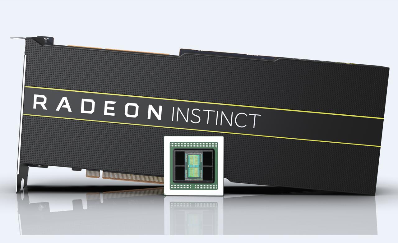 AMD Radeon Instinct加速器為全球首款7奈米製程資料中心GPU。...