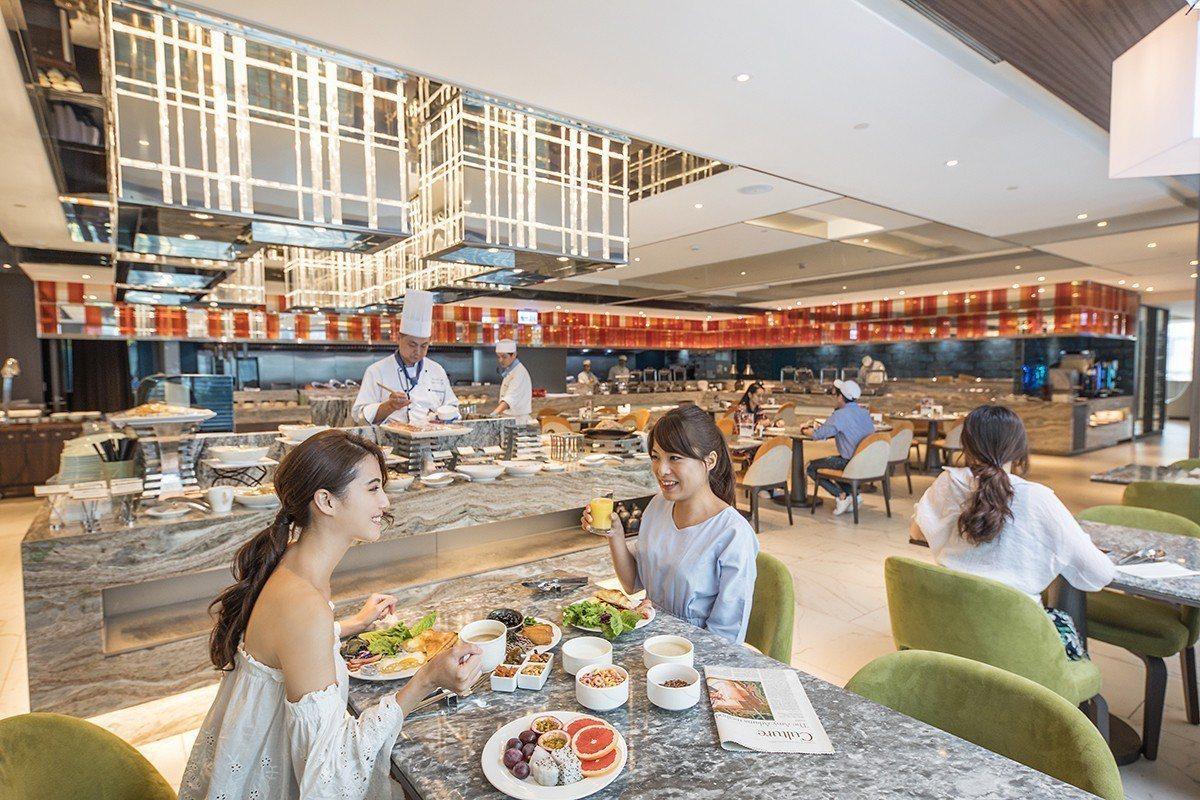 板橋凱撒大飯店在雙11當天推出餐券優惠。圖/板橋凱撒大飯店提供