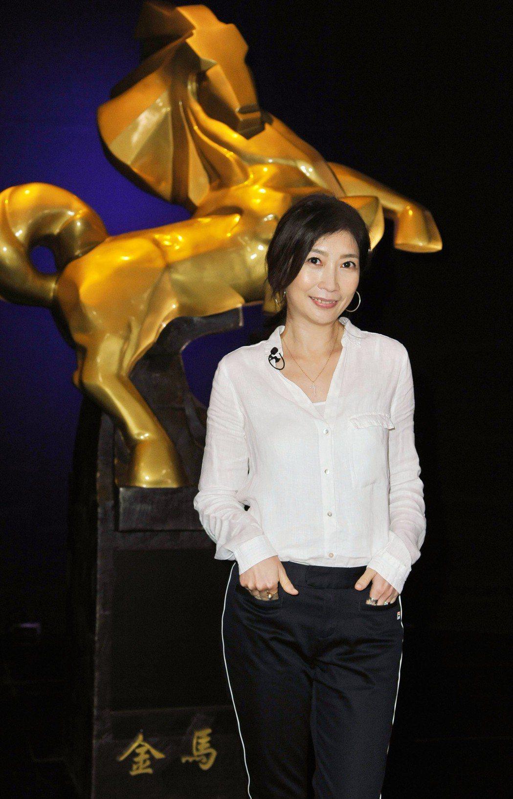 黃嘉千今年入圍金馬最佳女配角。圖/台視提供