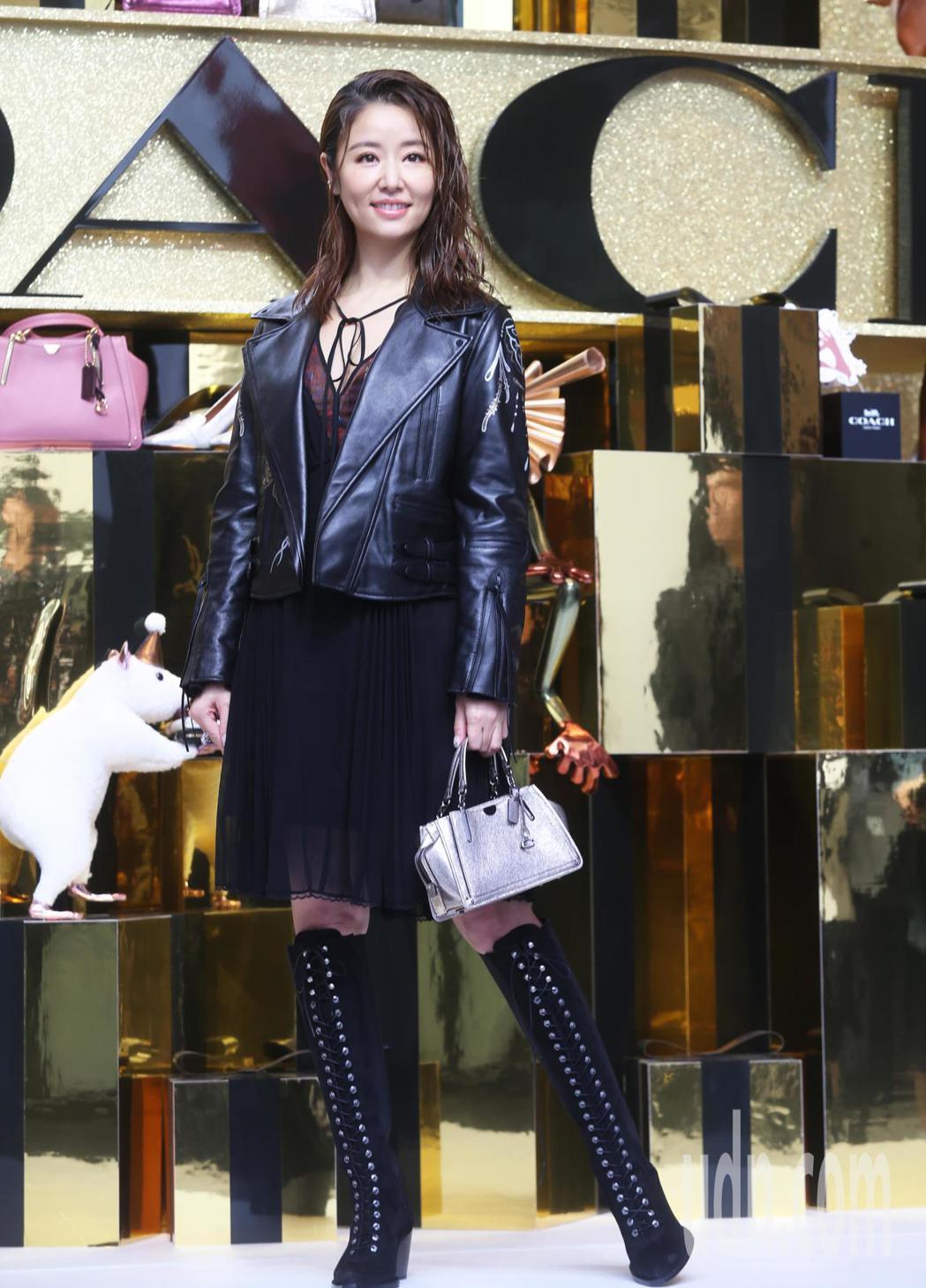 女星林心如今天受邀出席COACH快閃限定店開幕活動。記者徐兆玄/攝影