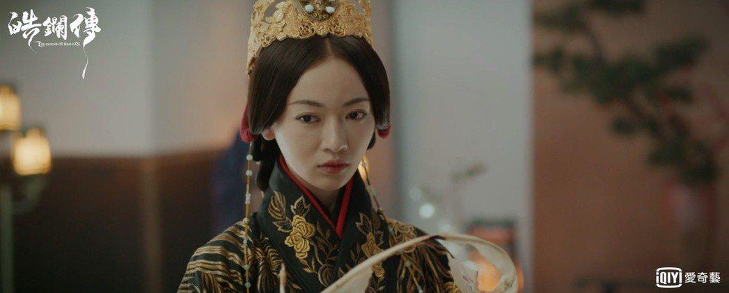 吳謹言飾演「李皓鑭」。圖/愛奇藝台灣站提供