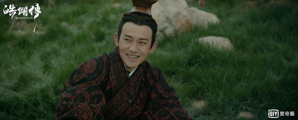聶遠飾演「呂不韋」。