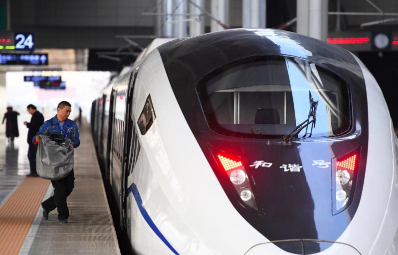 中國鐵路總公司表示,今年電商黃金週鐵路總體運力資源投放創歷年新高,其中專門用於「...