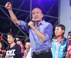 3萬人旗山唱軍歌「夜襲」 韓國瑜批民進黨只會抺黑