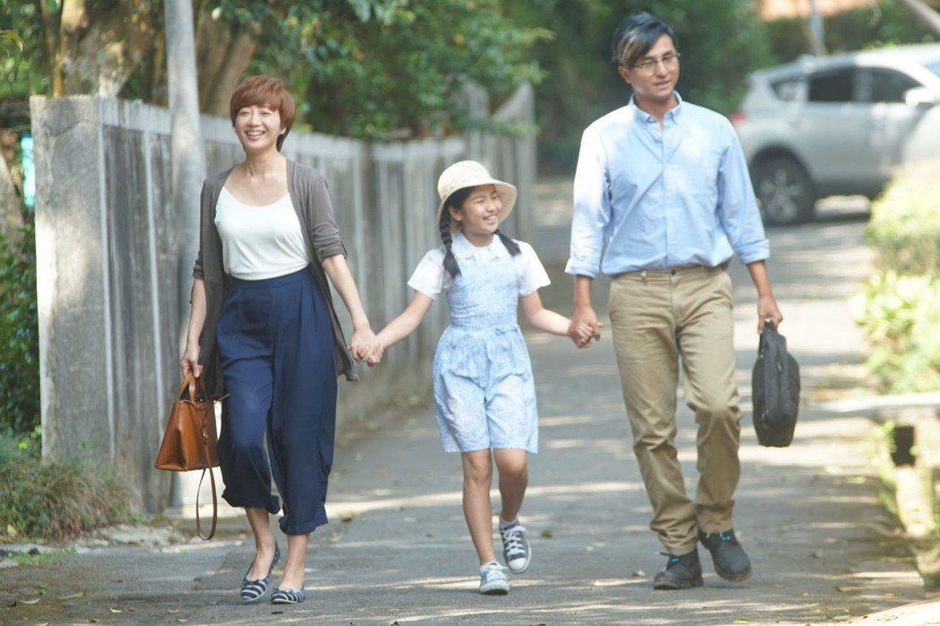 王少偉(右)、潘亦如首次合作演夫妻檔。圖/公視提供