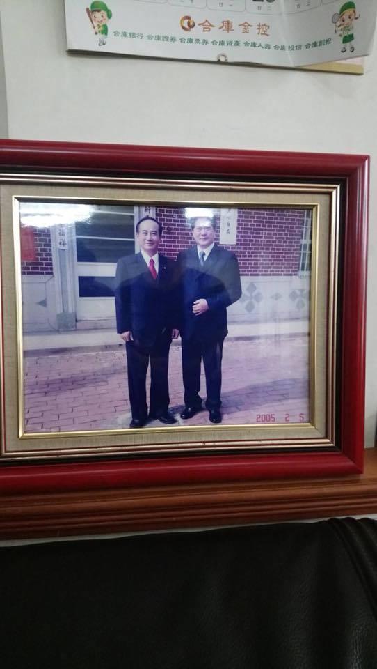 現任「台灣商業聯合總會的常務監事」蘇宗光(右)是國民黨資深立委王金平的好友,決定...