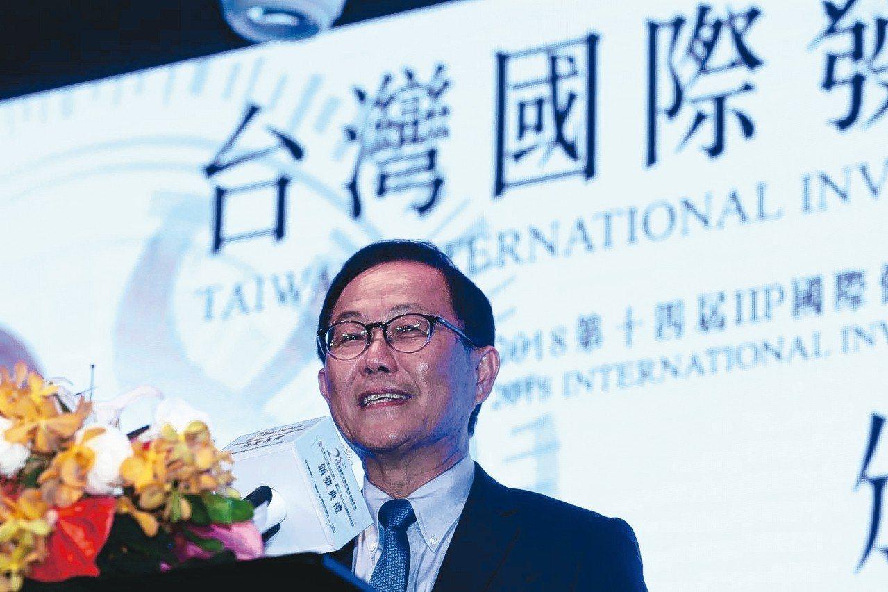 國民黨台北市長候選人丁守中。 聯合報系記者蘇健忠/攝影