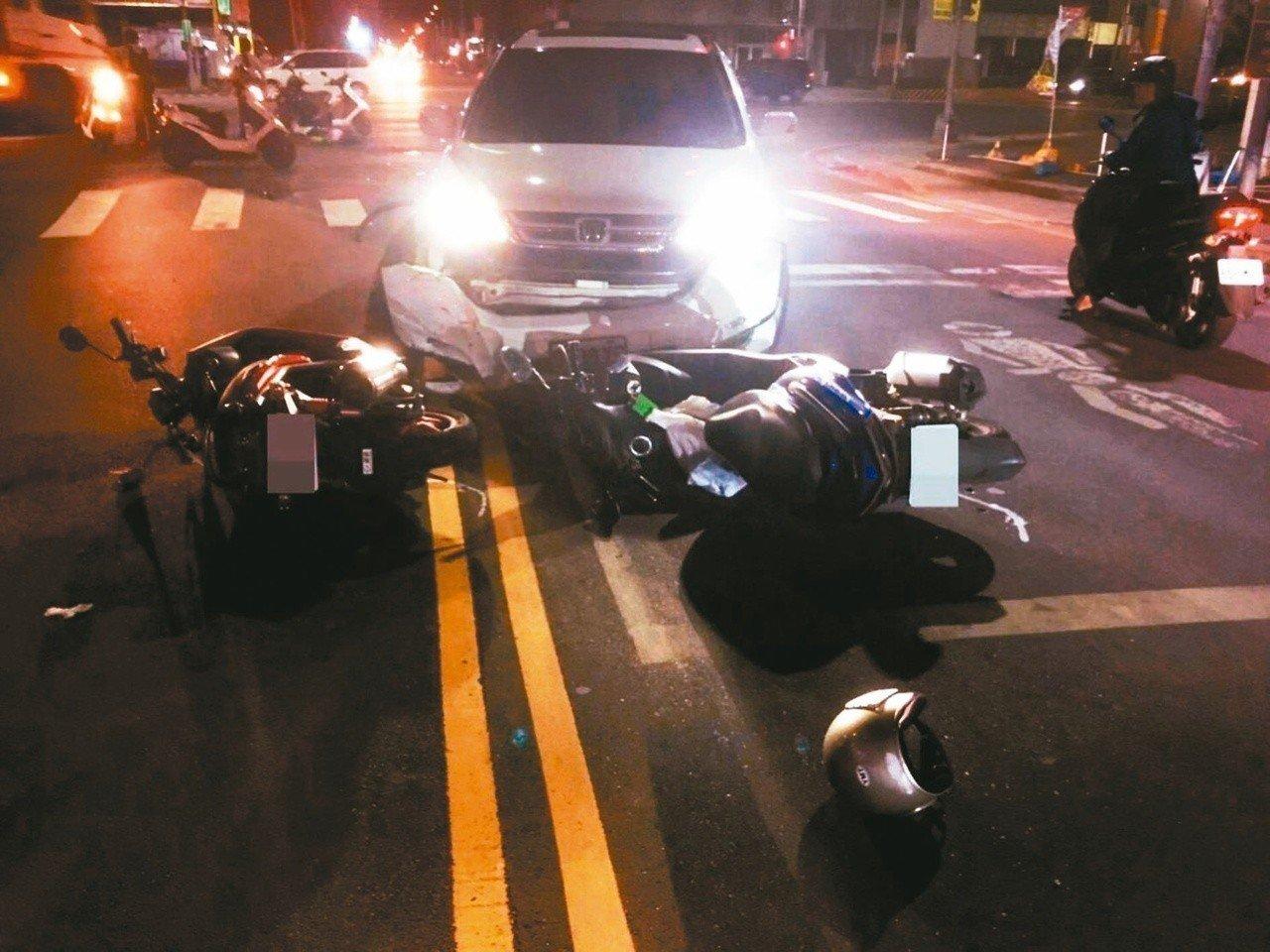 林姓設計師十月五日晚間酒駕,在新北市新北大道與泰林路口先撞擊就讀台大研究所的林姓...