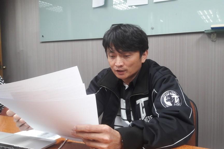 中職秘書長馮勝賢。 聯合報系資料照片/記者藍宗標攝影