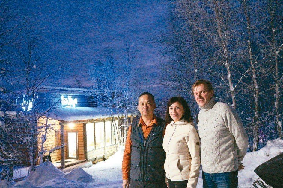 極光木屋EcoHome已經啟用,追極光不用挨餓受凍,可以更享受。 圖/陳志光、游...