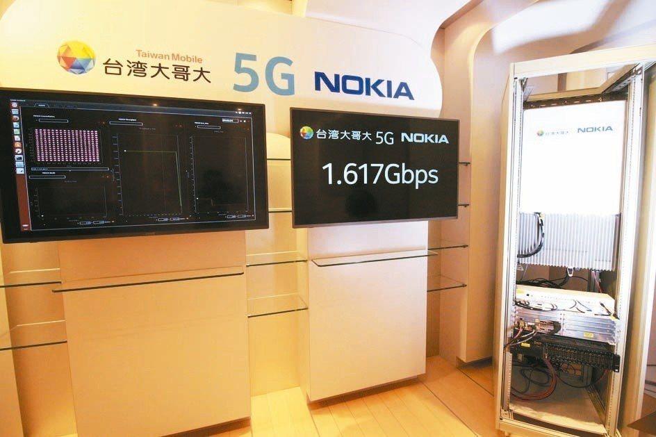 台灣大哥大攜手諾基亞宣布,邁入5G新里程碑,完成5G與終端互連互配,傳輸速度最高...