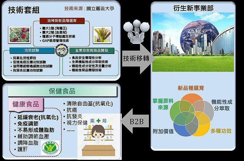洛神葵嘉大品系全果應用技術套組。 農科院/提供
