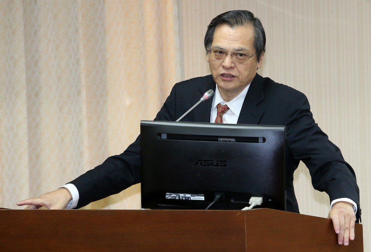 圖為陸委會主委陳明通。 聯合報系資料照片/記者胡經周攝影