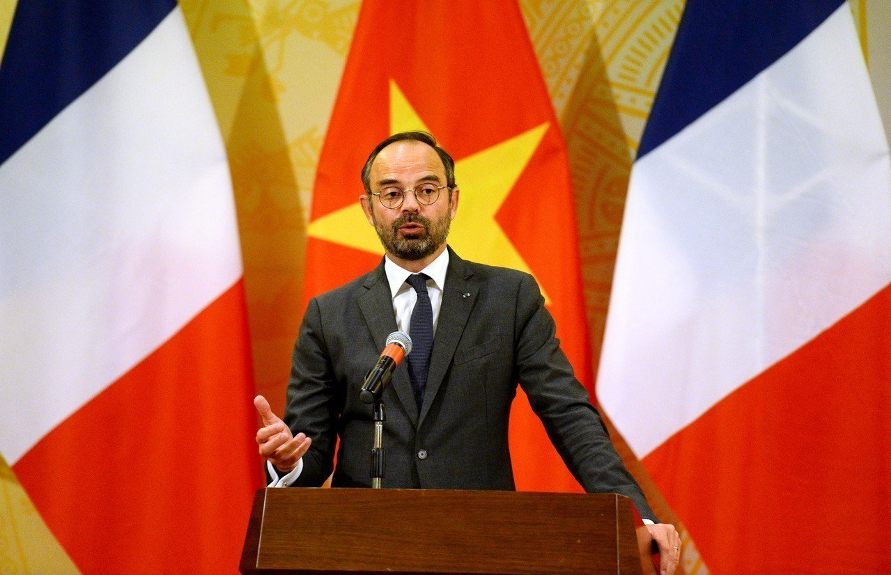 法國總理菲力普。 歐新社