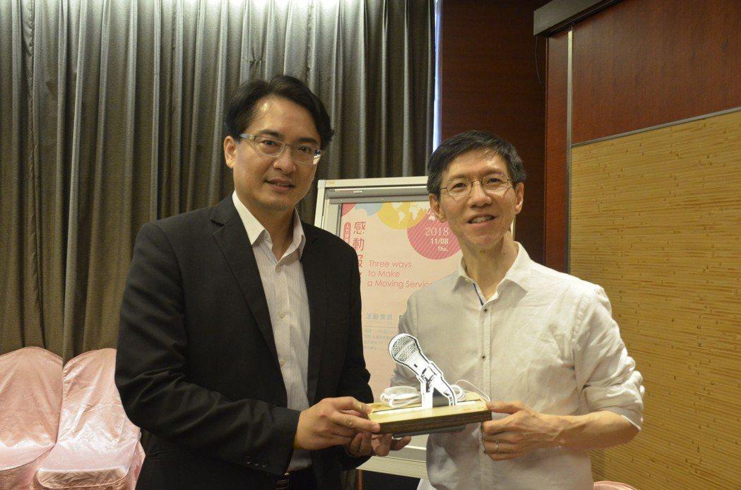 成果發表會活動也請來王文華談感動服務,來參與企業主獲益良多。 業者/提供