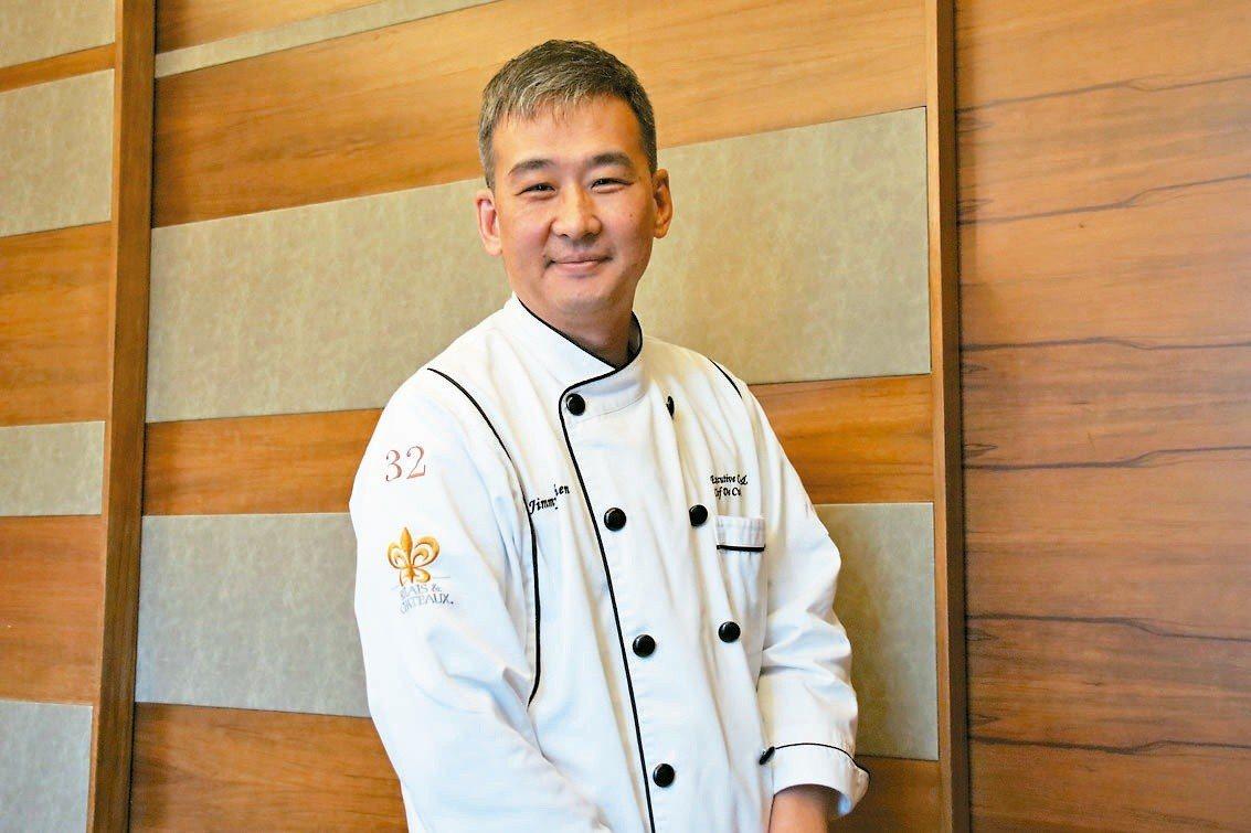 Jimmy主廚希望能將自小「辦桌」所學,轉化為精緻歐式料理,台歐合璧、更添飲食文...