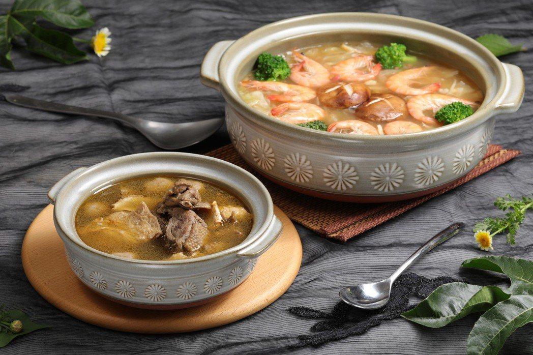 圖說:名廚美饌超激優惠,冬季限定美味鍋品與日本花三島砂鍋,絕佳組合讓你一次帶回家...