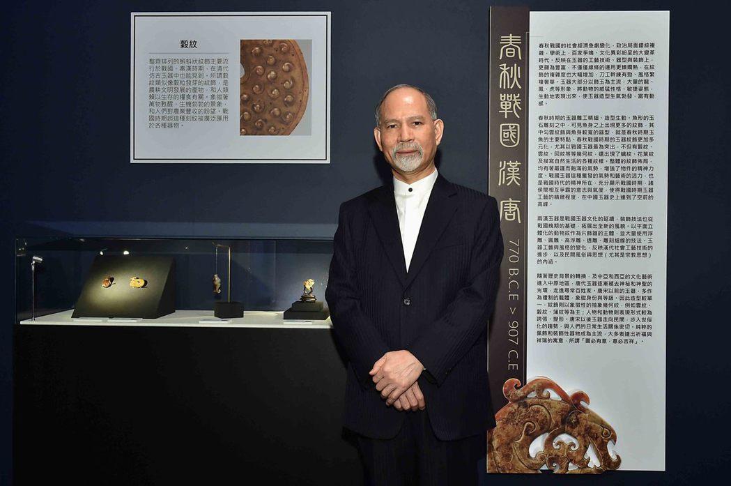 元家企業創辦人顏元博私人收藏逾四百件的魚形玉器,中華玉魚文化在台灣第一個最有系統...