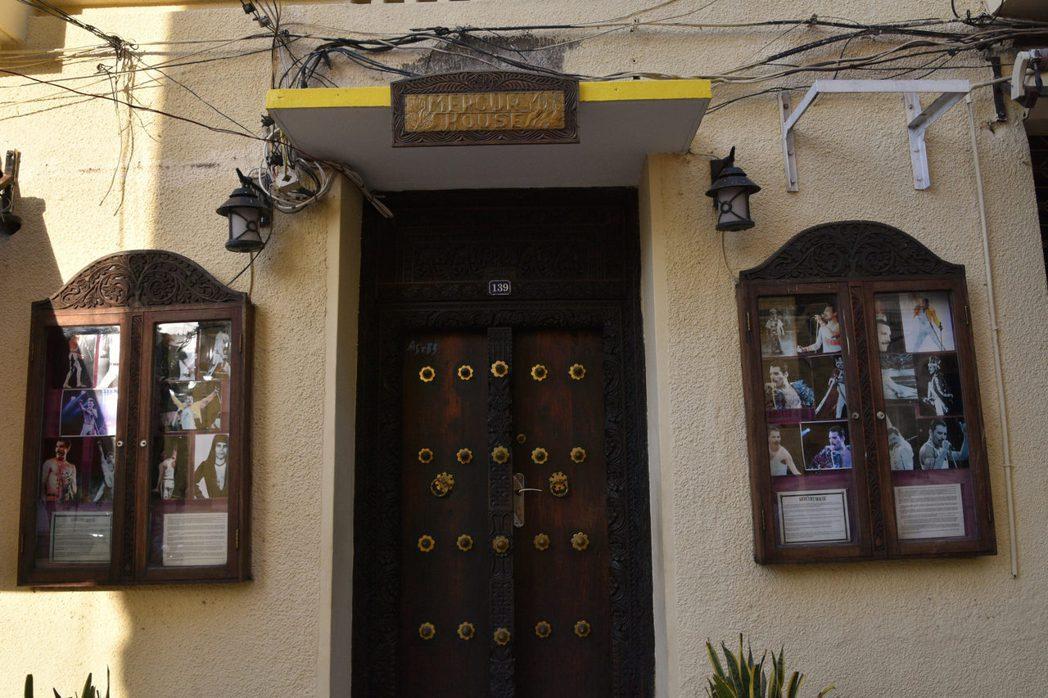 佛萊迪的出生地:東非尚吉巴(Zanzibar)的故居。 圖/Richar Mor...