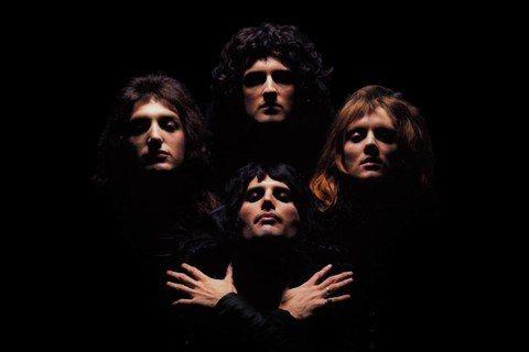《波希米亞狂想曲》(Bohemian Rhapsody)專輯的皇后合唱團。 圖/...