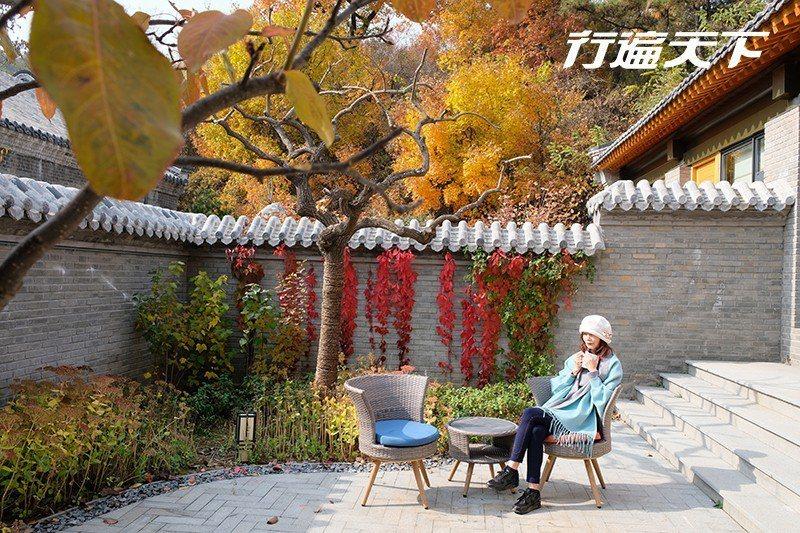 坐在能共享也能獨享的庭院裡,品嚐秋的滋味最舒心。  攝影|行遍天下