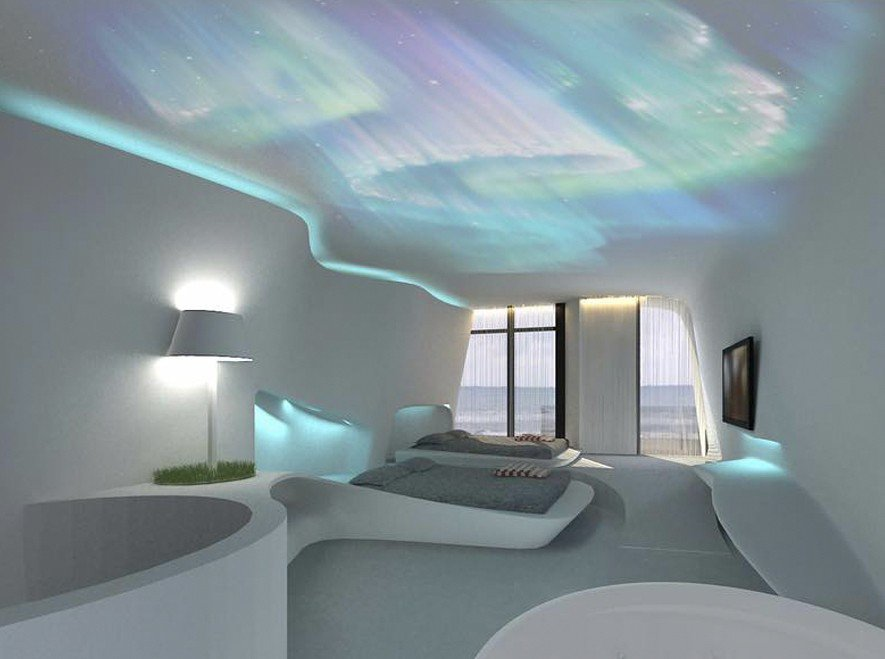 (圖)PLAY Hotel民宿 極光房3D示意圖