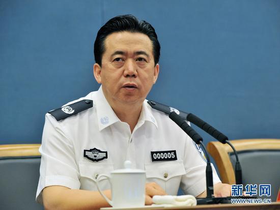 中國籍前國際刑警組織主席孟宏偉失蹤、後遭中方調查,引起國際社會關注。(新華網)