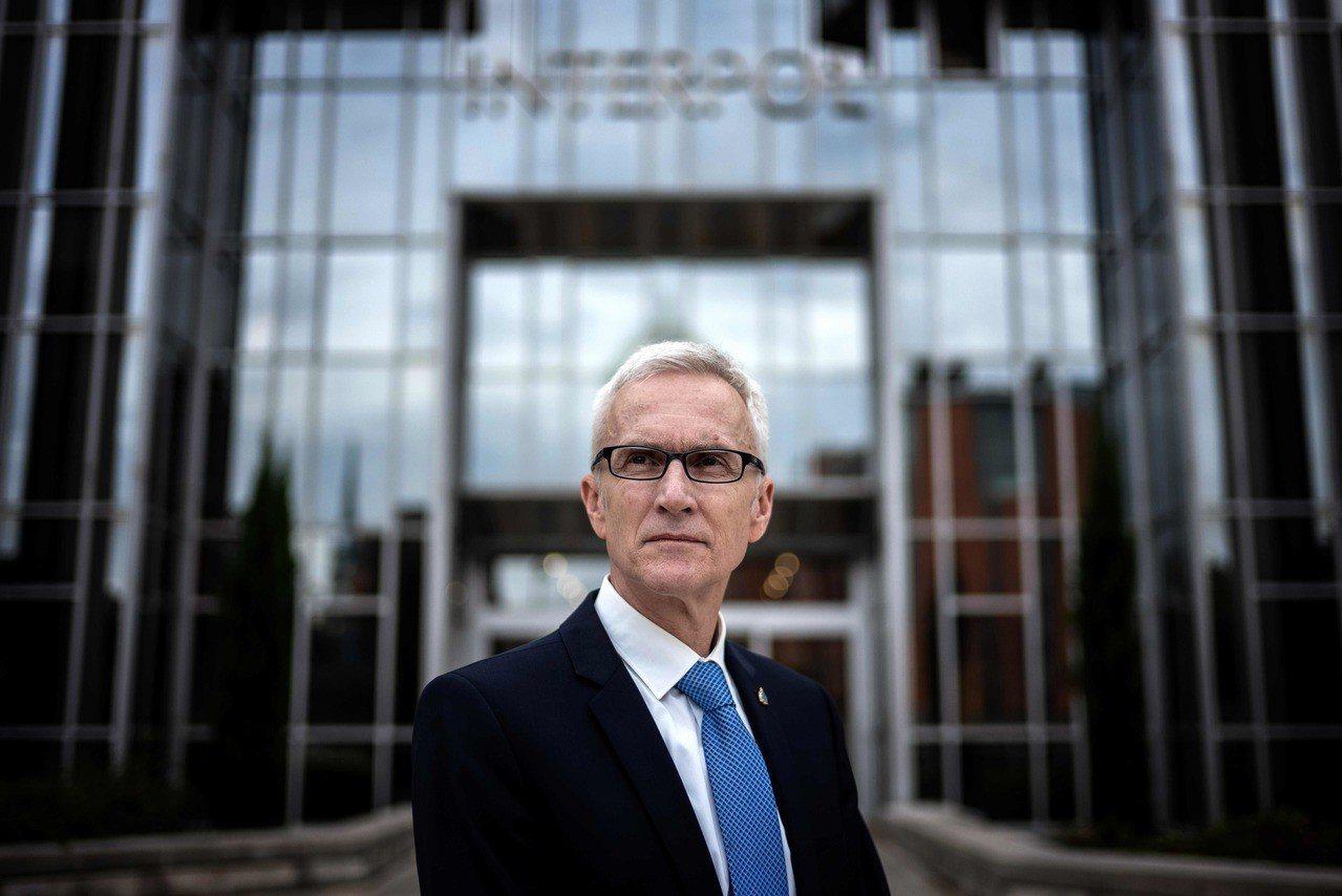 國際刑警組織秘書長斯托克表示,他無權調查孟宏偉的情況。法新社