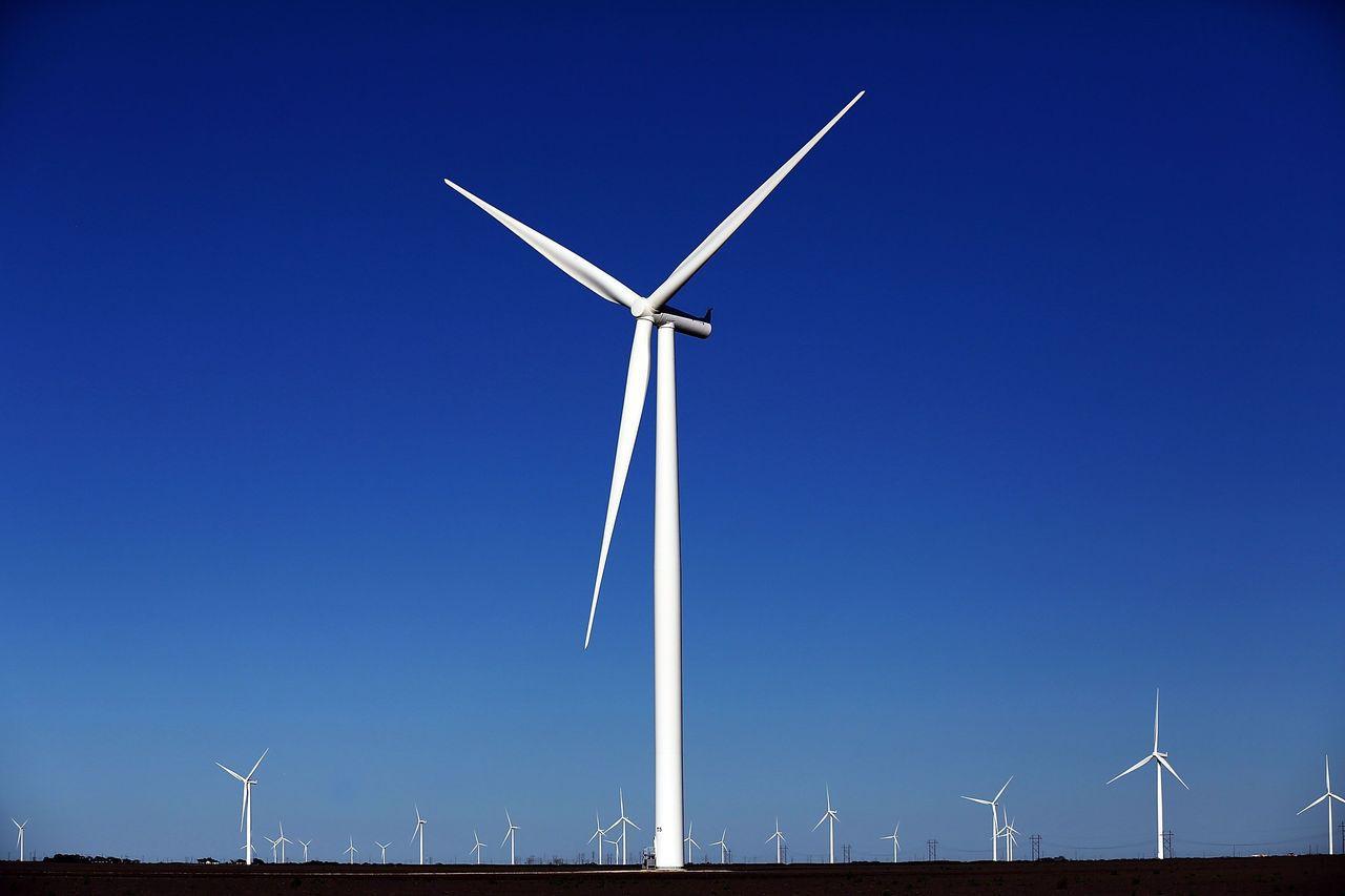 美國再生能源發電成本下降,將衝擊燃煤發電廠,也將影響川普的振興煤業計畫。 法新社