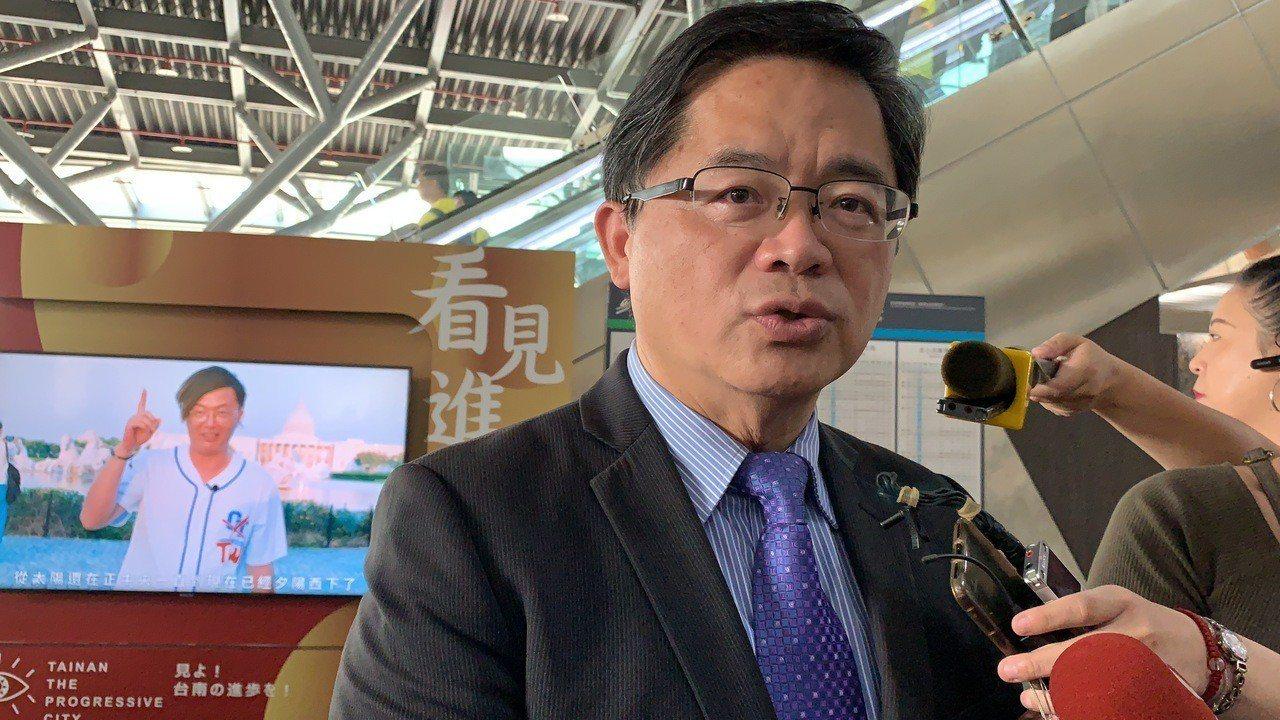 台南代理市長李孟諺今天澄清有周刊報導台南議長配合款一年兩億是全國第一,是誤會大了...