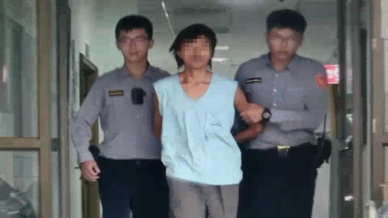訊後警方將吳男依竊盜罪移送新北地檢。記者巫鴻瑋/翻攝
