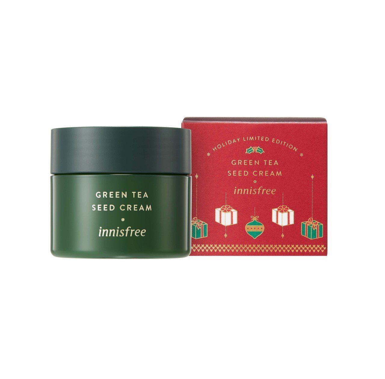 2018 innisfree綠色耶誕綠茶籽保濕霜雙倍加大版,100ml售價1,1...