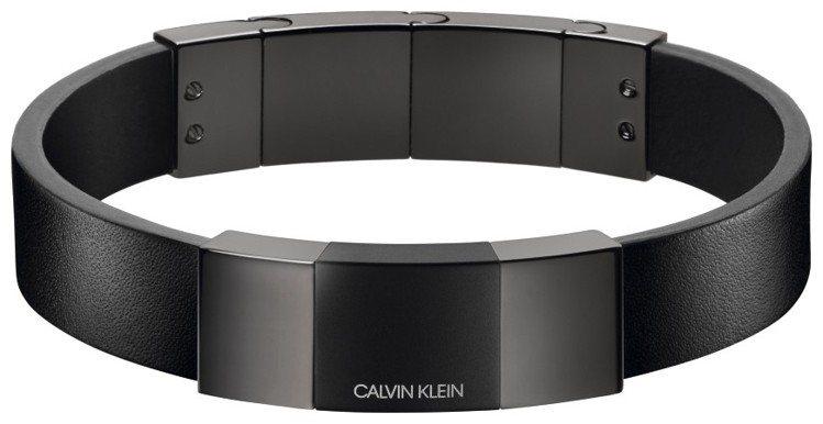 CALVIN KLEIN Strong騎士系列手環,約3,900元。圖/CALV...